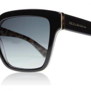 Dolce and Gabbana 4234 2857T3 Musta Aurinkolasit