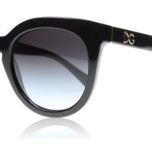 Dolce and Gabbana 4249 5018G Musta Aurinkolasit