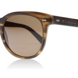 Dolce and Gabbana 4254 296473 Ruskea printti Aurinkolasit