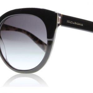 Dolce and Gabbana 4259 2857/8G Musta Aurinkolasit
