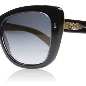 Dolce and Gabbana 4260 2955T3 Musta Aurinkolasit