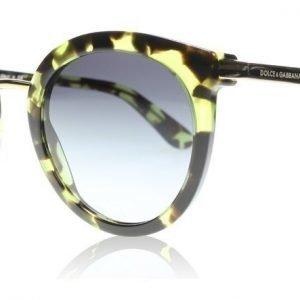 Dolce and Gabbana 4268 29708G Vihreä havanna Aurinkolasit