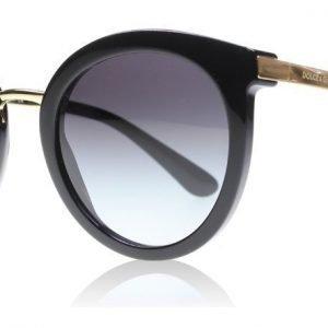 Dolce and Gabbana 4268 5018G Musta-kulta Aurinkolasit