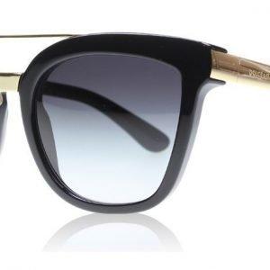 Dolce and Gabbana 4269 5018G Musta-kulta Aurinkolasit