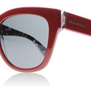 Dolce and Gabbana 4270 302087 punainen Aurinkolasit