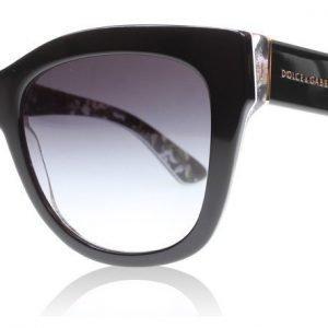 Dolce and Gabbana 4270 30218G Musta Aurinkolasit