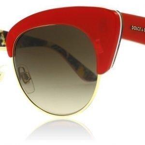 Dolce and Gabbana 4277 303413 Punainen-kulta Aurinkolasit