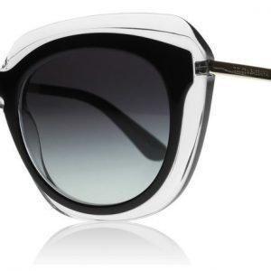 Dolce and Gabbana 4282 675/8G Musta-kirkas Aurinkolasit