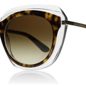 Dolce and Gabbana 4282 757/13 Havanna-kirkas Aurinkolasit