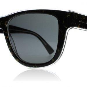 Dolce and Gabbana 4284 305387 Musta kuvioitu Aurinkolasit