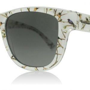 Dolce and Gabbana 4284 305587 Valkoinen kuvioitu Aurinkolasit