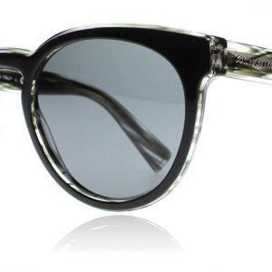 Dolce and Gabbana 4285 305687 Musta raidallinen Aurinkolasit
