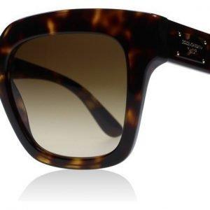 Dolce and Gabbana 4286 502-13 Tumma kilpikonna Aurinkolasit