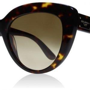 Dolce and Gabbana 4287 502-13 Tumma kilpikonna Aurinkolasit
