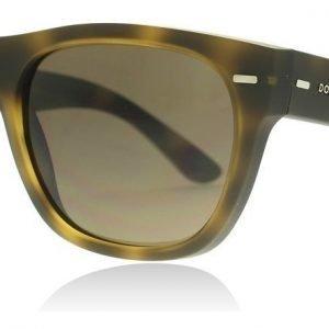 Dolce and Gabbana 6091 289973 Havana Rubber Aurinkolasit