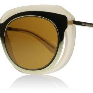 Dolce and Gabbana 6104 304173 Pinkki-kulta Aurinkolasit