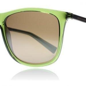 Dolce and Gabbana 6106 3068Y8 Läpikuultava vihreä Aurinkolasit