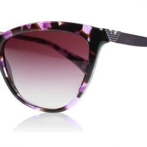 Emporio Armani 4030 52264Q Violetti Havana Aurinkolasit