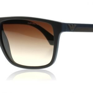 Emporio Armani 4033 523113 Matta ruskea-sininen Aurinkolasit