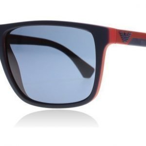 Emporio Armani 4033 532587 Matta sininen-matta punainen Aurinkolasit