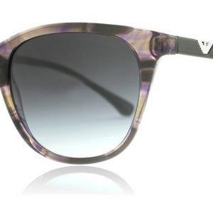 Emporio Armani 4086 55528G Violetti kuvioitu Aurinkolasit