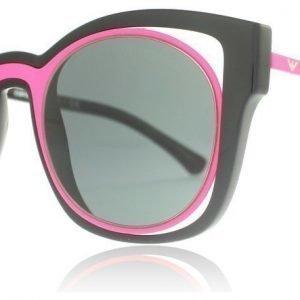 Emporio Armani 4091 558987 Musta-pinkki Aurinkolasit