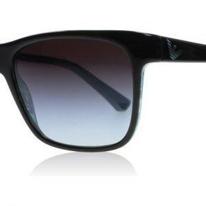 Emporio Armani Ea 4002 Black 50528G Musta-sininen Aurinkolasit