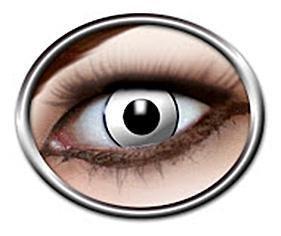 Eyecatcher White Manson Erikoistehostepiilolinssit