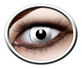 Eyecatcher White Zombie Erikoistehostepiilolinssit