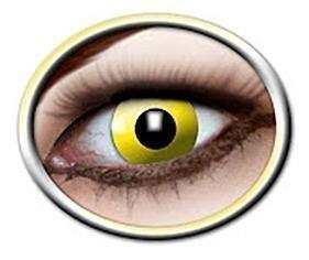 Eyecatcher Yellow Crowe Eye Erikoistehostepiilolinssit