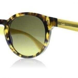 Fendi 0085S 0085 HJV Havana Ruskea Keltainen Aurinkolasit
