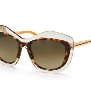 Fendi FF 0029/S-7NQ HA Crystal Havana Honey Gold aurinkolasit