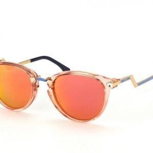 Fendi FF 0039/S-BUJ UZ Peach Gold Azure aurinkolasit