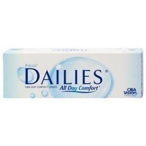 Focus Dailies 30/pkt Piilolinssit