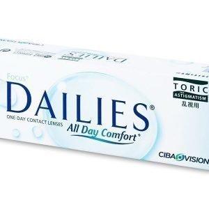 Focus Dailies Toric 30kpl Tooriset piilolinssit