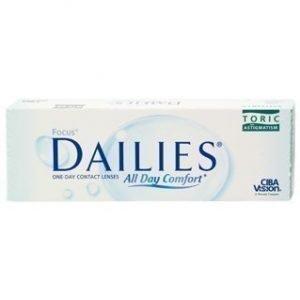Focus Dailies Toric 30/pkt Piilolinssit