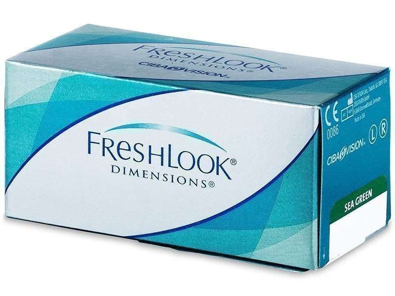 FreshLook Dimensions power 6kpl Värilliset piilolinssit