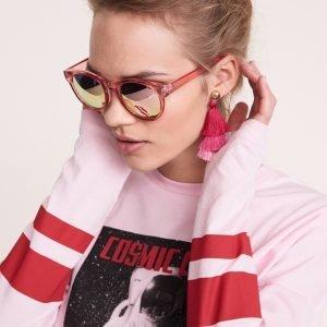 Gina Tricot Alva Aurinkolasit Vaaleanpunainen