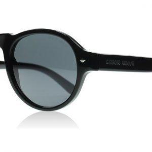 Giorgio Armani 8053 5017R5 Kiiltävä musta Aurinkolasit