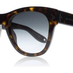 Givenchy 7010/S 0869O Tumma havanna Aurinkolasit