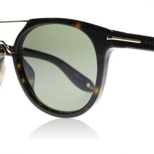 Givenchy 7034/S 08670 Tumma havanna-kulta Aurinkolasit