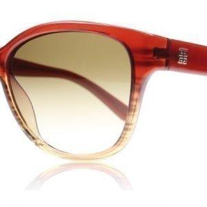 Givenchy SGV815 815 0ACN Punainen Aurinkolasit