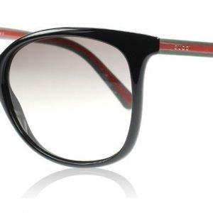 Gucci 3649S 1649/S 51N Musta-vihreä-punainen Aurinkolasit