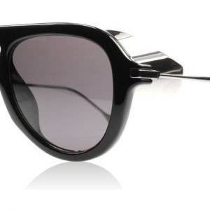 Gucci 3737S 3737 CVSY1 Musta/Hopea Aurinkolasit
