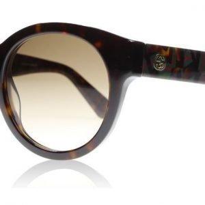 Gucci 3763S H30 Havanna-vihreä-punainen Aurinkolasit