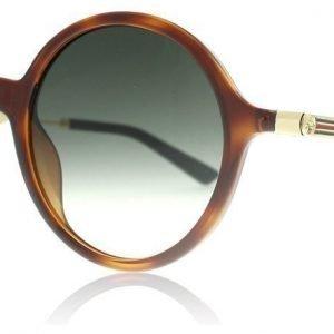 Gucci 3865S QWP Havanna-kulta Aurinkolasit