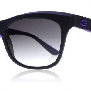Guess 7464 82B Tummansininen-violetti Aurinkolasit