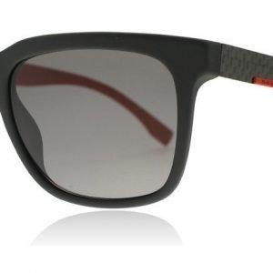 Hugo Boss 0670S 32U Musta Hiilikuitu ja Punainen Aurinkolasit