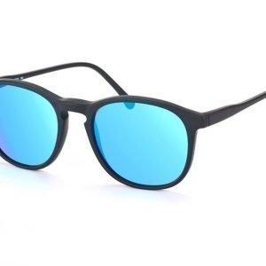 Illesteva IL Hudson-matte black w blue m Aurinkolasit