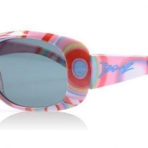J Banz J Banz Pink Strip J Banz 4-10 Years PMS Kuviollinen pinkki Aurinkolasit